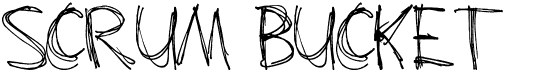 Scrum-Bucket
