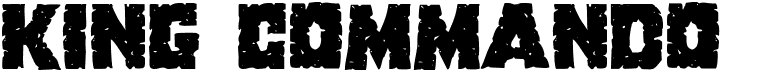 King Commando Shadow Italic