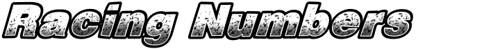 RacingNumbers