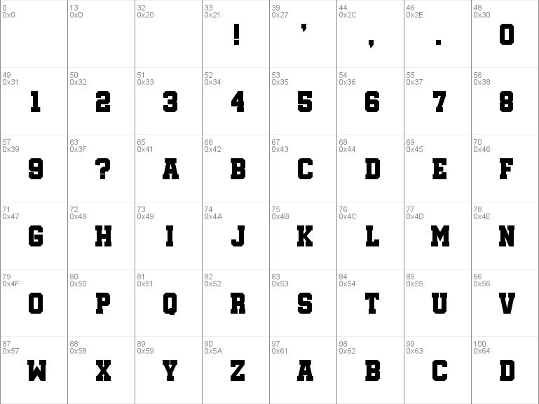 Download free Soccer League font, free SoccerLeague ttf Regular font