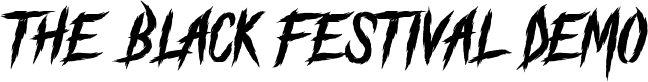 The Black Festival_DEMO