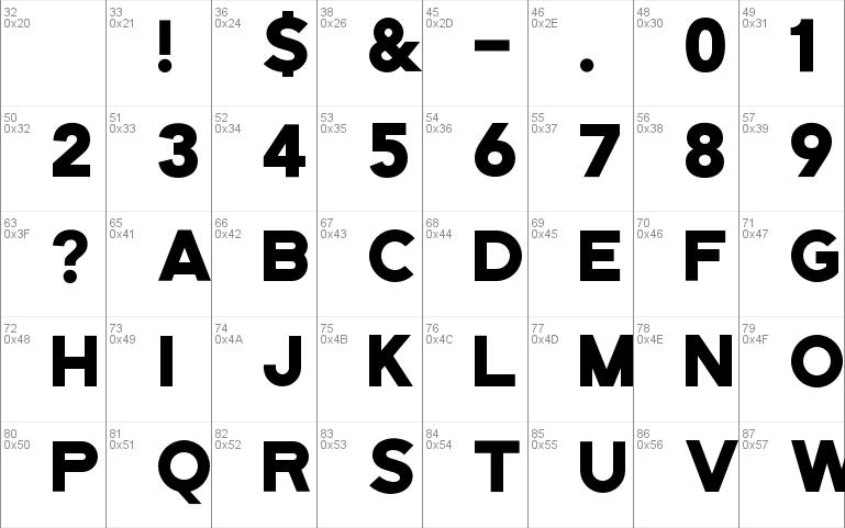 Download free Bourbon Grotesque font, free BourbonGrotesque