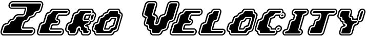 Zero Velocity (BRK)