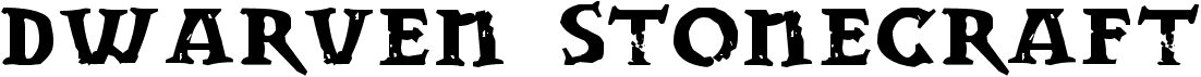 Dwarven Stonecraft