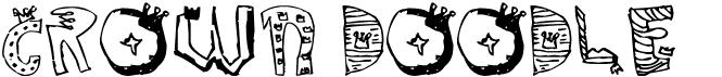 Crown Doodle {denne}