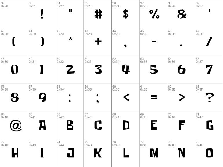 Download free Krabby Patty font, free Krabby Patty ttf