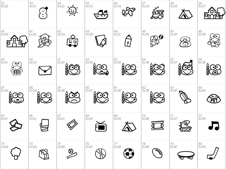 Download free Keroppi font, free keroppi ttf Regular font for Windows