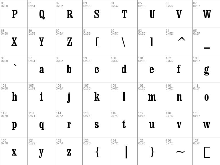 Download free Clarendon Cn BT font, free Clrndnc ttf Regular font