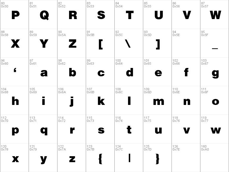 Download free Helvetica-Black-SemiBold font, free HELVETIC ttf