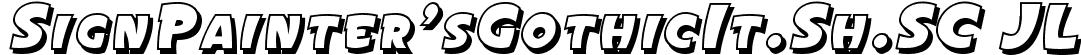 SignPainter'sGothicIt.Sh.SC JL