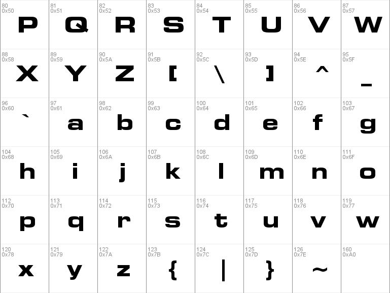 square721 bdex bt normal font