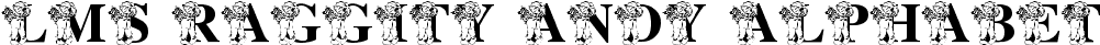 LMS Raggity Andy Alphabet