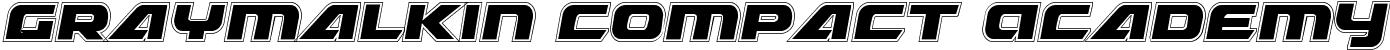 Graymalkin Compact Academy Condensed
