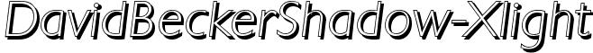 DavidBeckerShadow-Xlight
