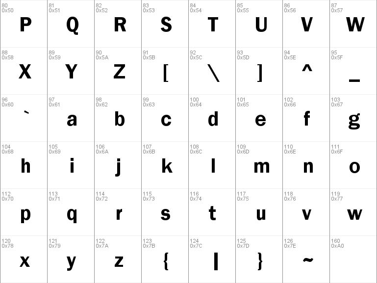 Download free Franklin Gothic Demi font, free FRADM TTF