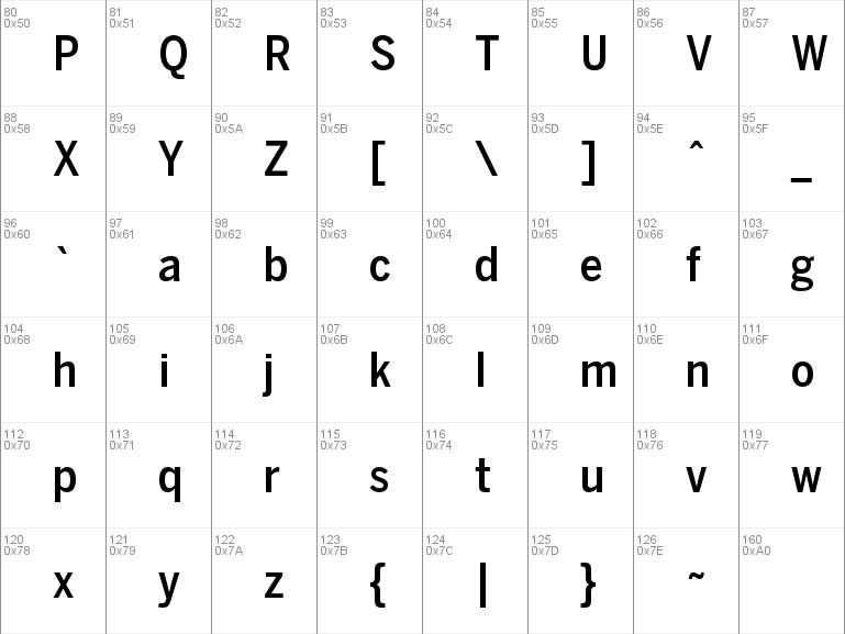 Download free BentonSans Cond Medium font, free BentonSans
