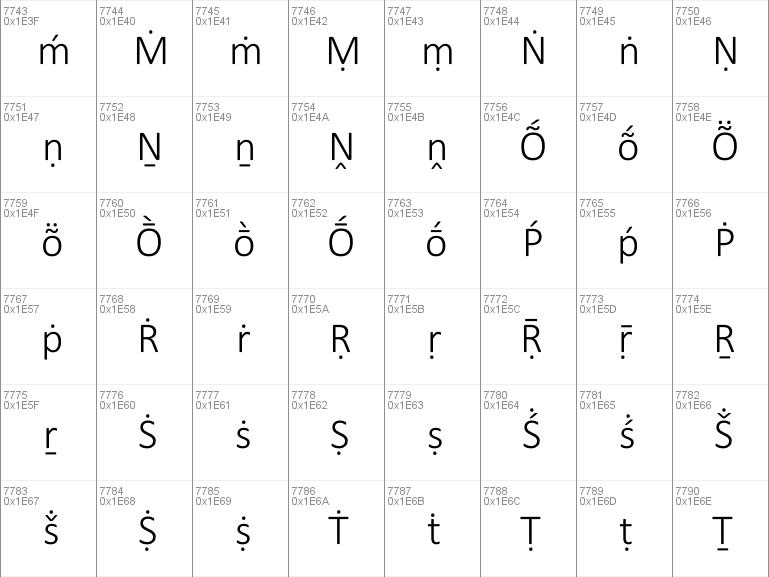 Calibri Light Font