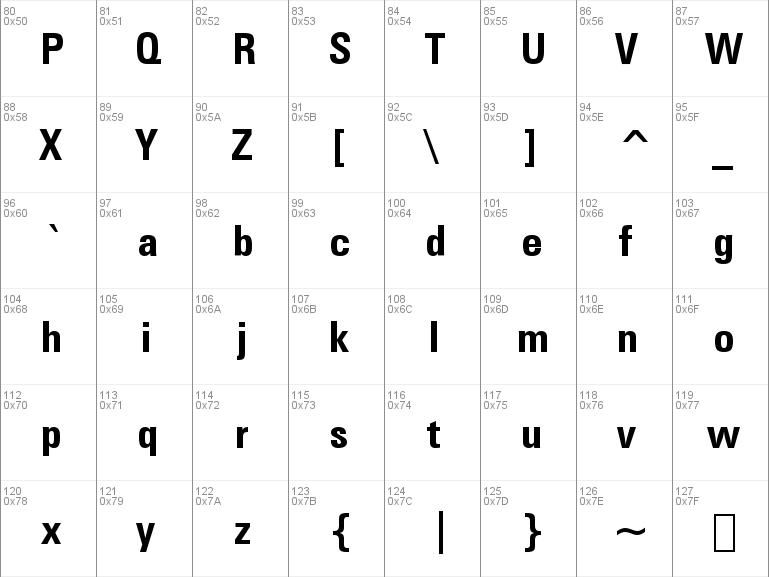 zurich cn bt normal font free download