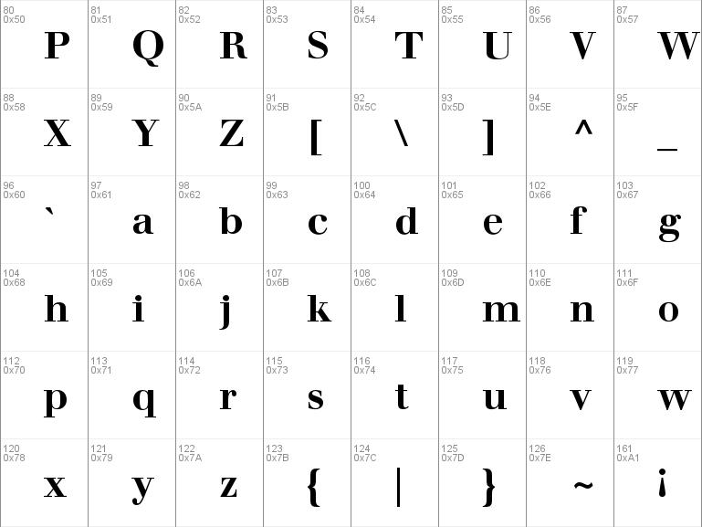 Walbaum Book Font