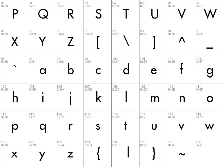 Download free Futura LT font, free FuturaLT ttf Regular font